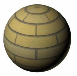Изображение шара с отключенным каналом Bump