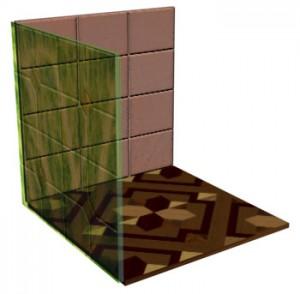 В канале Filter Color использована текстурная карта leaf.jpg