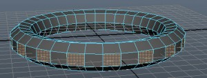 Выделение полигонов на объекте